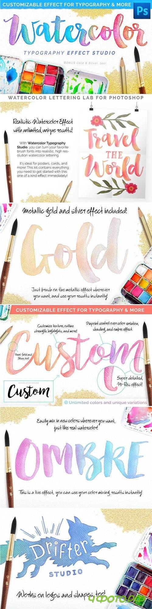 Watercolor Lettering Studio Pro 2739196