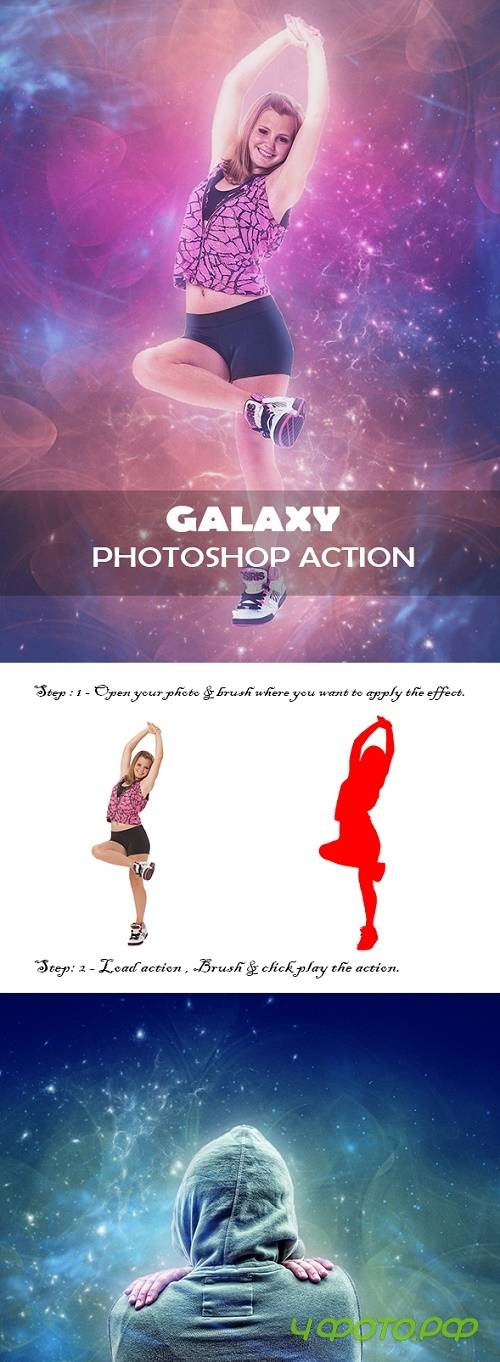 Galaxy Photoshop Action 22477970