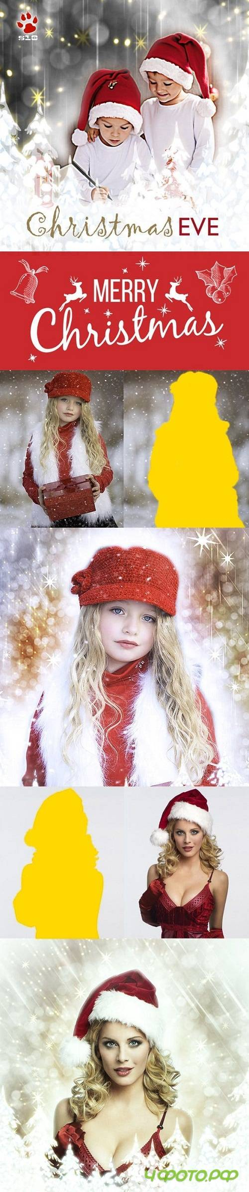 Christmas Photoshop Action - 14059220