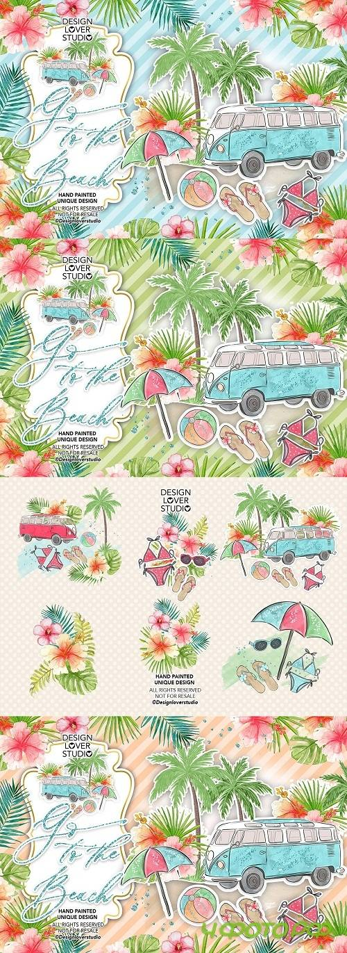 Go to the Beach design