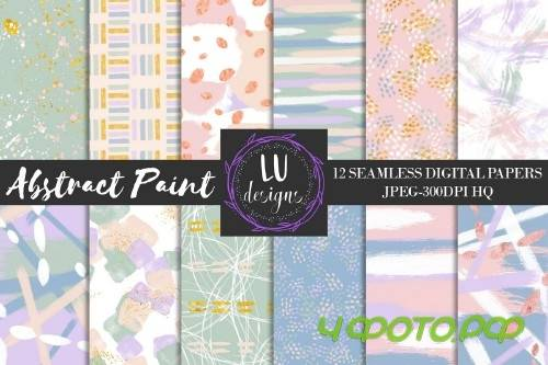 Abstract Paint Digital Paper Pack - 50888