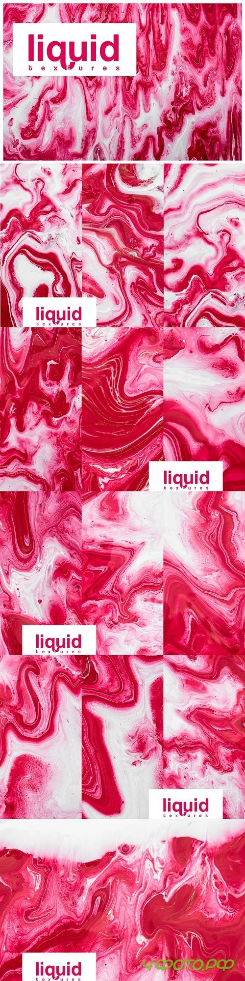 Liquid marble ink textures watercolor vol2 background - 239830