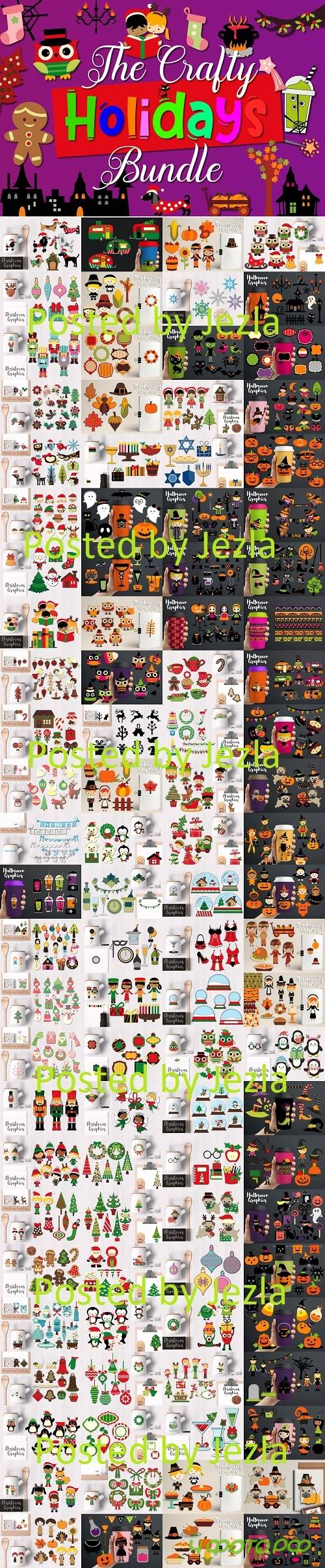 The Crafty Holidays Bundle