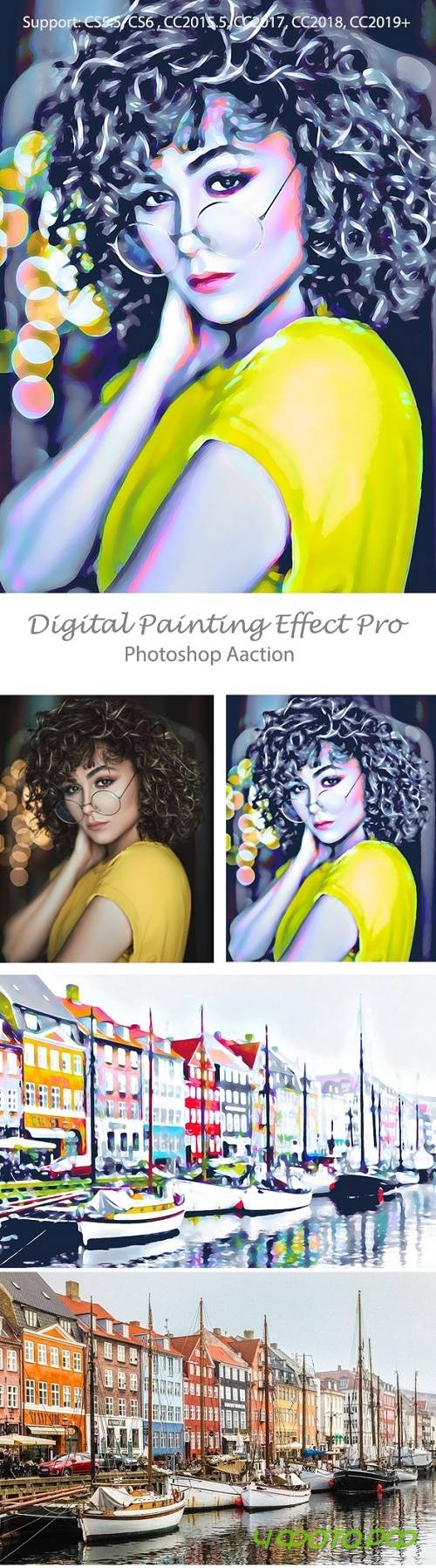 Digital Painting Effect Pro 23927222