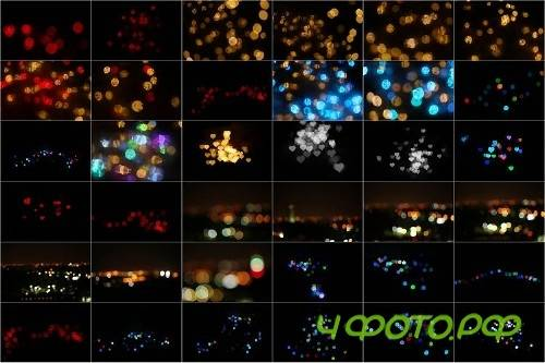 90 Life Style Bokeh lights Effect Photo Overlays 306354