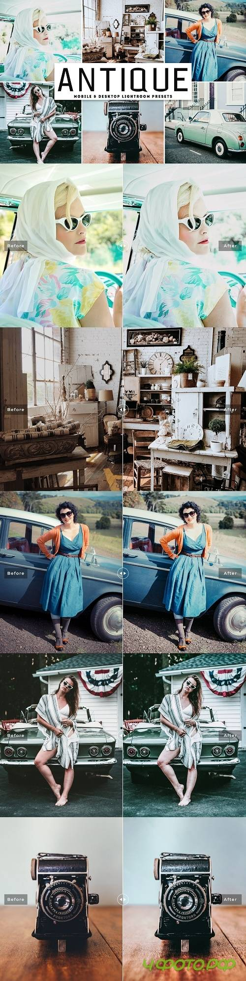 Antique Lightroom Presets Pack - 4092123