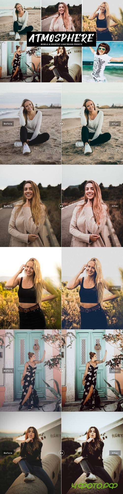 Atmosphere Lightroom Presets Pack - 4083090