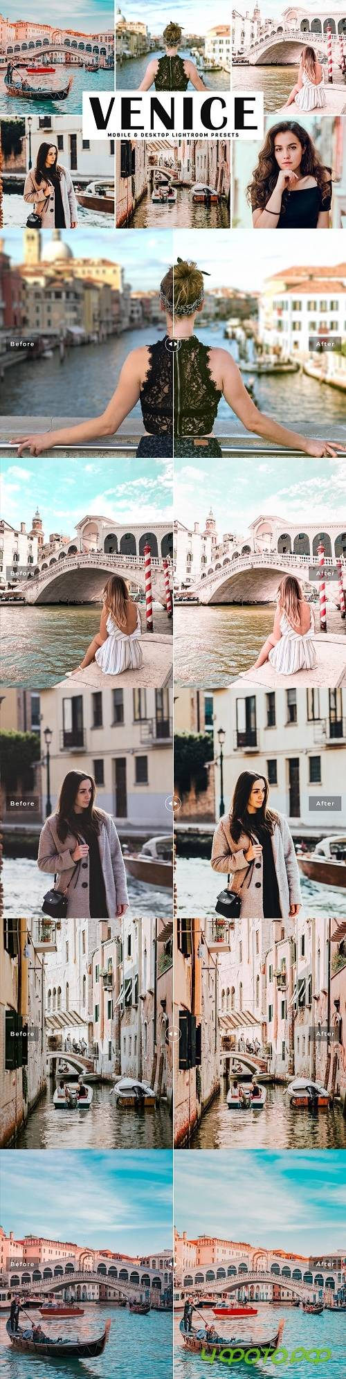 Venice Lightroom Preset Pack - 4087975 - Mobile & Desktop Lightroom Presets
