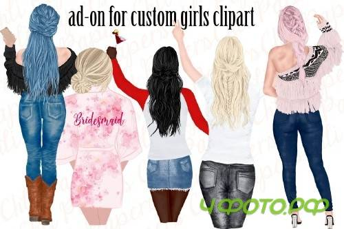 Custom Hairstyles Clipart - 4335029