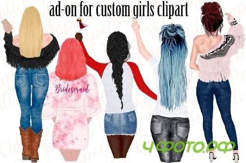Custom Hairstyles Clipart - 4315877