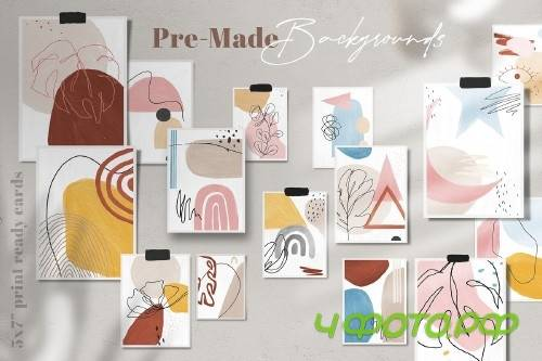 Artisan Abstract Shapes & Line Art - 4334992