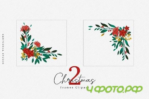 Merry Christmas Card Template 5x7 - 412519
