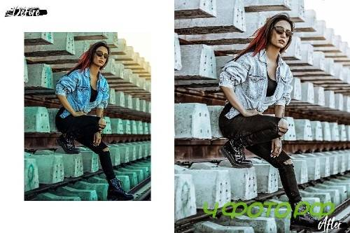 05 Fashion Wave Mobile Lightroom Presets, Vogue photography - 412520