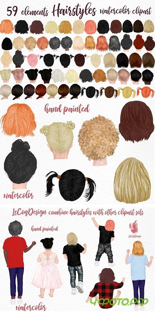 Hairstyles clipart Kids Hairstyles - 4580662