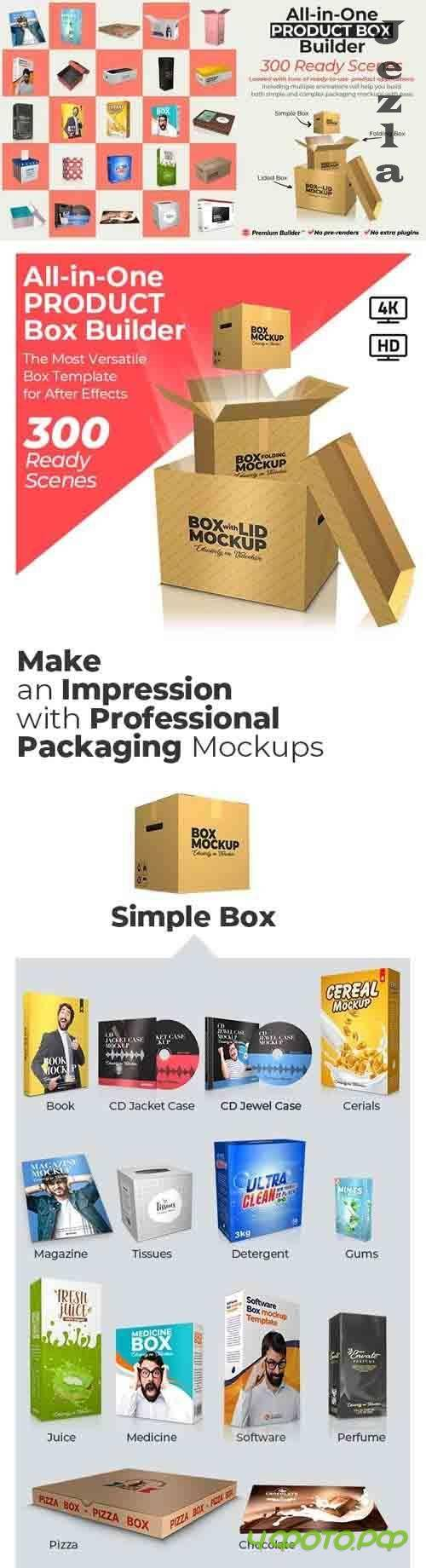Videohive - All-in-One Product Box Builder - 25901445