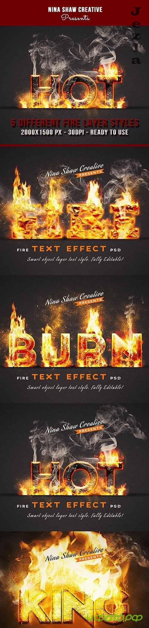 Fire Text Effects 27755366
