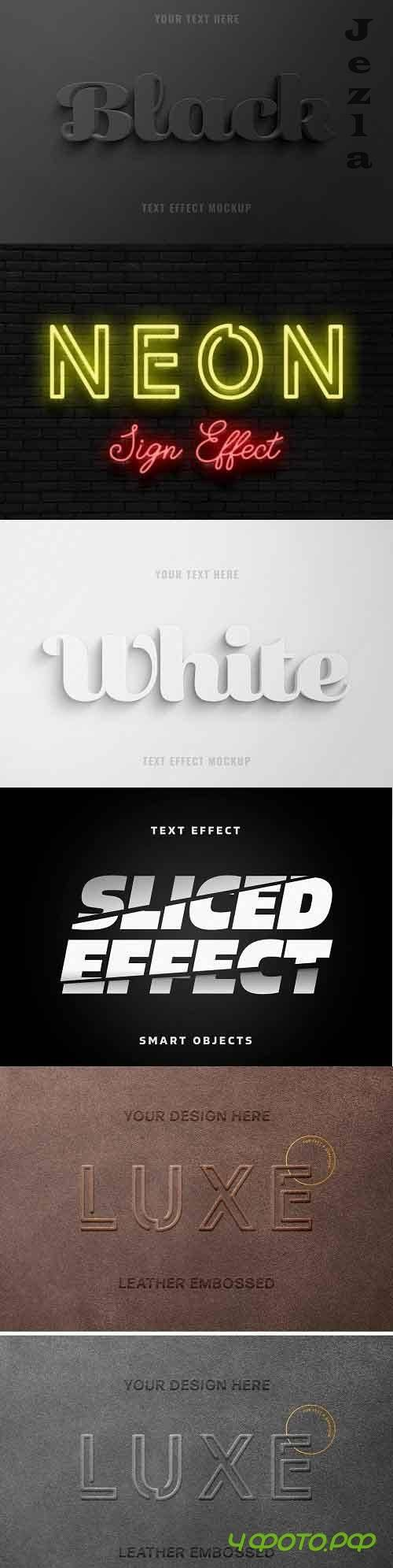 Text Effect Mockup