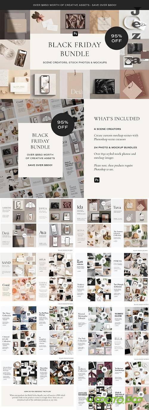 CreativeMarket - Black Friday Bundle 5596062