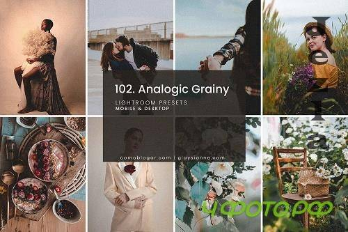 CreativeMarket - 102. Analogic Grainy Presets 5158850